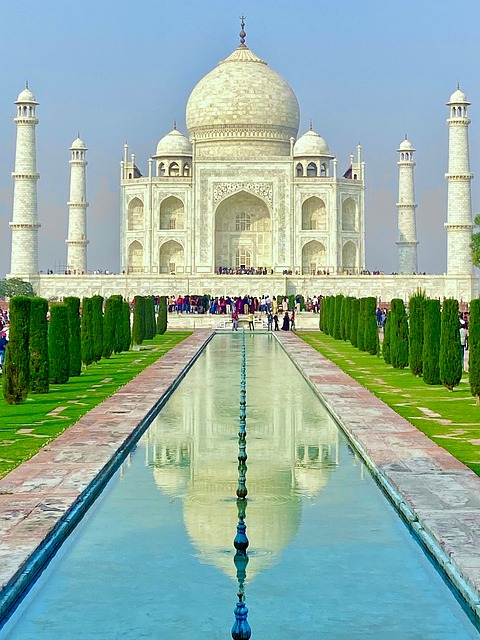 Taj Mahal Agra Architecture Travel
