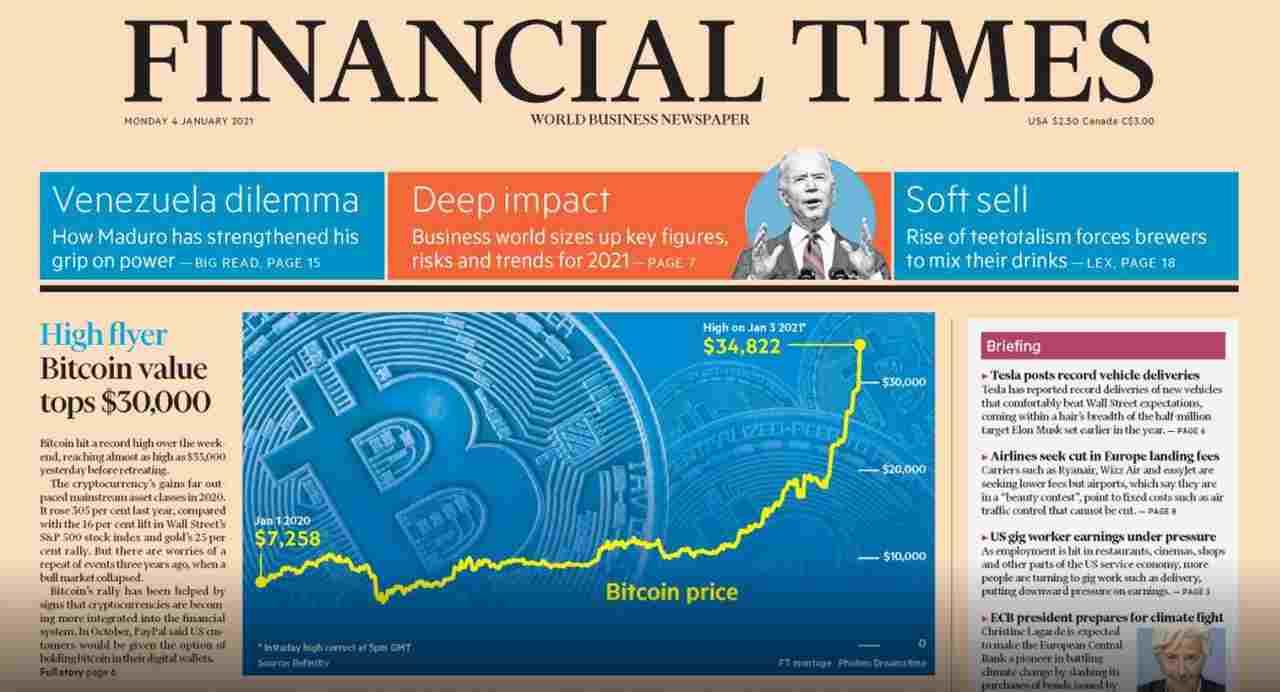 financial times bitcoin