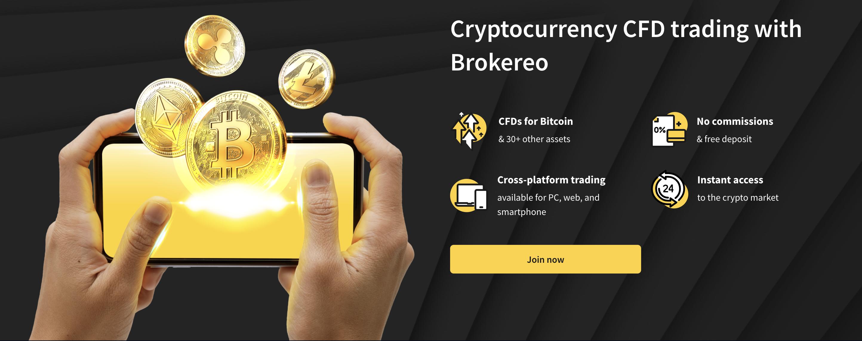 cryptocurrencies trades in brokereo